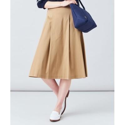 J.PRESS/ジェイプレス 【洗える】60/2コットンナイロンシルキーローン スカート キャメル系 7