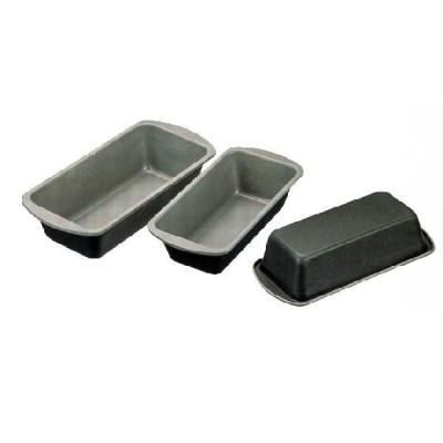 ブラックフィギュア シルバーストーン加工 パウンドケーキ型 (深) S