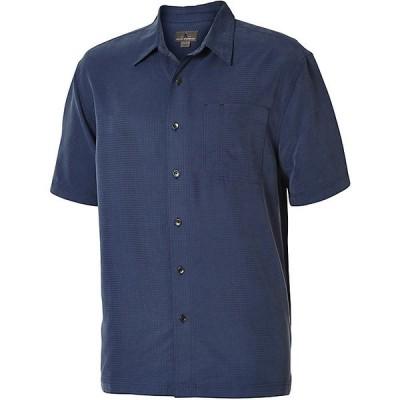 ロイヤルロビンズ シャツ メンズ トップス Royal Robbins Men's Desert Pucker S/S Top Collins Blue