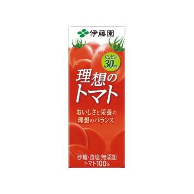 伊藤園 #理想のトマト 200ml×24パック 18506 ◆代引不可◆