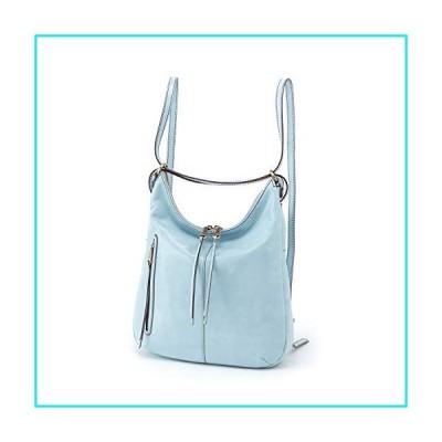 Hobo Women's Leather Merrin Convertible Bucket Backpack (Whisper Blue)【並行輸入品】