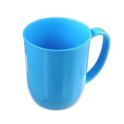マグカップ ブルー 300ml 電子レンジ対応 カラフルマグ