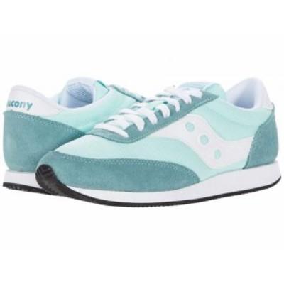 Saucony Originals サッカニー レディース 女性用 シューズ 靴 スニーカー 運動靴 Hornet Mint/White【送料無料】