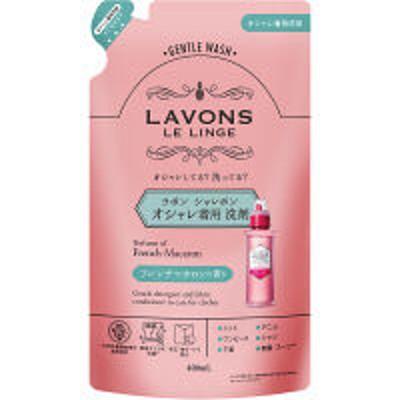 ネイチャーラボラボン LAVONS シャレボン オシャレ着洗剤 フレンチマカロン 詰め替え 400ml 1個 衣料用洗剤 ストーリア