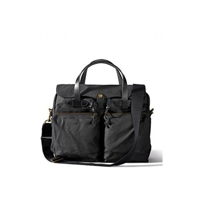 Filson 24 Hour Tin Cloth Briefcase - Black【並行輸入品】