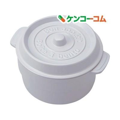 ココポット ラウンド ホワイトT-56445 ( 1コ入 ) ( お弁当箱 )