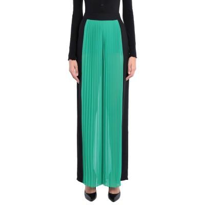 HANITA ロングスカート エメラルドグリーン 44 レーヨン 95% / ポリウレタン 5% / ポリエステル ロングスカート