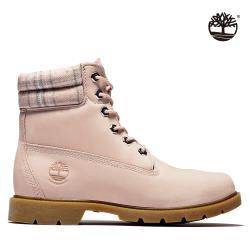 Timberland 女款淺粉色磨砂革6吋靴A2BBR662