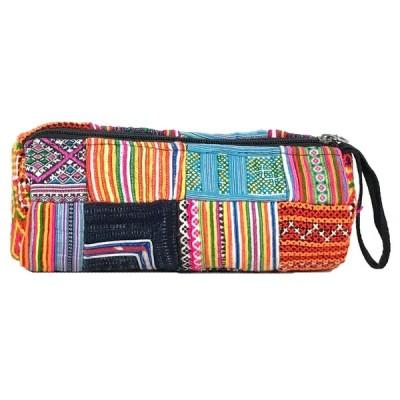 ■ポーチ 民族刺繍/モン族/ベトナム/アジアン メンズ/レディース/バッグ 43510