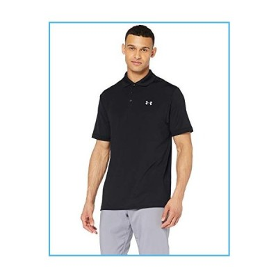Under Armour Men's Performance Golf Polo, Black (001)/Steel, Small[並行輸入品]