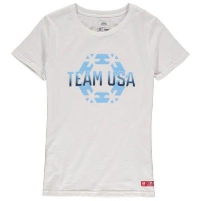 アウタースタッフ レディース Tシャツ トップス Team USA Women's Modern Snowflake T-Shirt