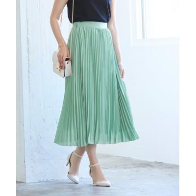 ur's / ミモレ丈プリーツスカート WOMEN スカート > スカート
