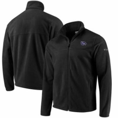 Columbia コロンビア スポーツ用品  Columbia Kansas State Wildcats Charcoal Flanker Full Zip Fleece Jacket
