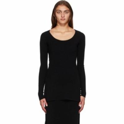 トーテム Toteme レディース ニット・セーター トップス Black Wool Moro Sweater Black