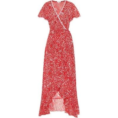 プーペット セント バース Poupette St Barth レディース ワンピース マキシ丈 Exclusive to Mytheresa - Joe printed maxi dress Red Farfalla
