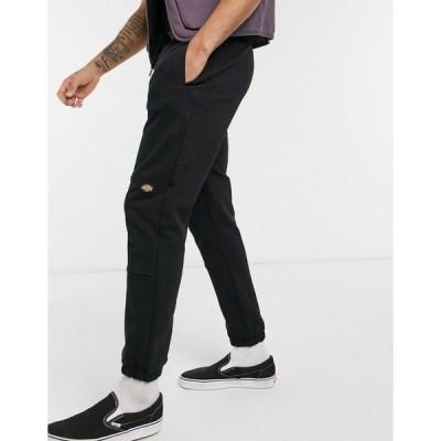 ディッキーズ メンズ カジュアルパンツ ボトムス Dickies Bienville sweatpants in black Black