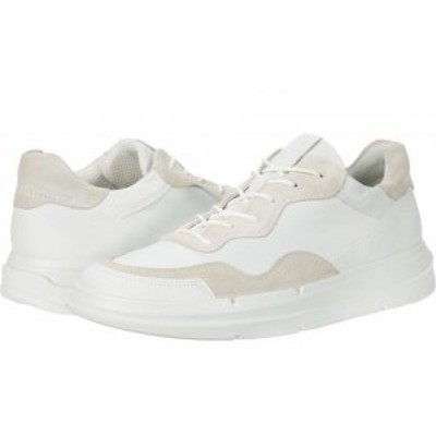 ECCO エコー レディース 女性用 シューズ 靴 スニーカー 運動靴 Soft X Sneaker White/Shadow White【送料無料】