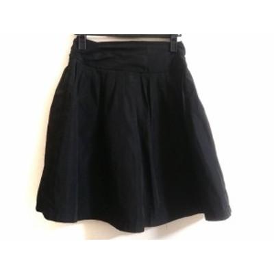 マッシモ MASSIMO スカート サイズ38 M レディース 黒【中古】
