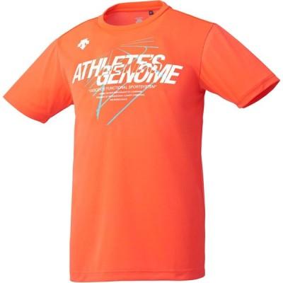 メール便OK DESCENTE(デサント) DRMNJA61 メンズ グラフィック ハーフスリーブシャツ ランニングシャツ