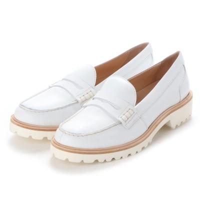 ヨーロッパコンフォートシューズ EU Comfort Shoes Palanti  ローファー(1574) (ホワイト)
