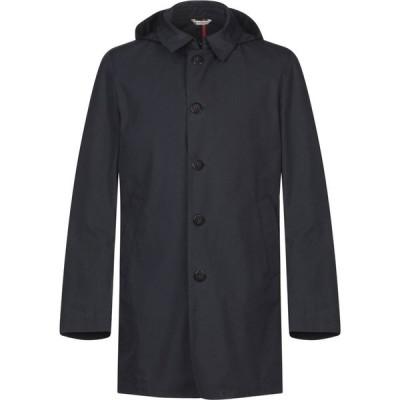 マニュエル リッツ MANUEL RITZ メンズ ジャケット アウター Full-Length Jacket Dark blue