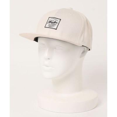 帽子 キャップ FLAT CAP/フラットタグ キャップ