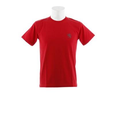 カペルミュール(KAPELMUUR)ヘビーウエイトTシャツ ビッグライオン レッド kphs604