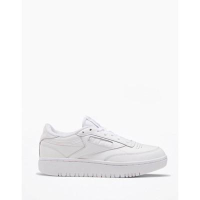 リーボック レディース スニーカー シューズ Reebok Club C Double sneakers in white