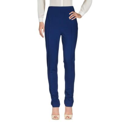 ツインセット シモーナ バルビエリ TWINSET パンツ ブルー 42 レーヨン 65% / ポリエステル 30% / ポリウレタン 5% パンツ