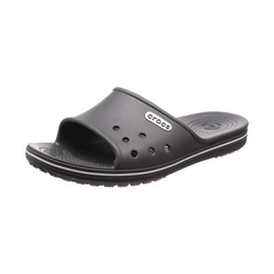 crocs クロックス サンダル Crocband II Slide クロックバンド 2.0 スライド Slate Grey/White 23.0cm