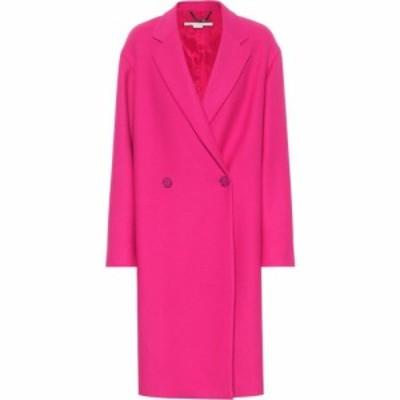 ステラ マッカートニー Stella McCartney レディース コート アウター wool-blend coat Fuchsia Pop