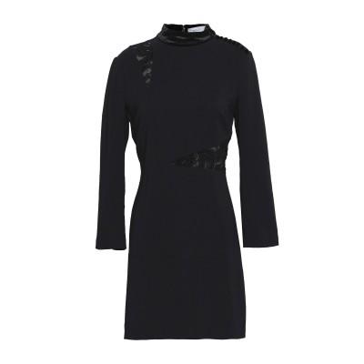 エー・エル・シー A.L.C. ミニワンピース&ドレス ブラック 8 レーヨン 97% / ポリウレタン 3% ミニワンピース&ドレス