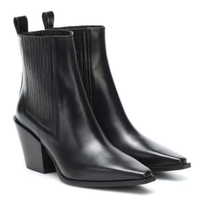 アイデ Aeyde レディース ブーツ ショートブーツ シューズ・靴 kate leather ankle boots Black