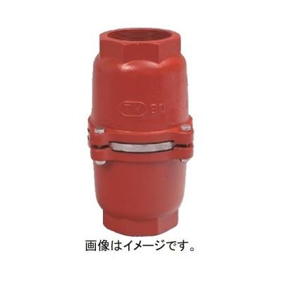 大阪継手バルブ製作所:フートバルブ オール鋳鉄片開式 捻込型中間 型式:FC373340(TV-8-40)