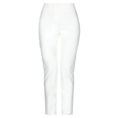 レ コパン LES COPAINS パンツ ホワイト 40 コットン 63% / ナイロン 31% / ポリウレタン 6% パンツ