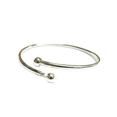 特別価格925 Sterling Silver Flex Bangle Cuff Caprice Bracelet with Screw End For Eu好評販売中