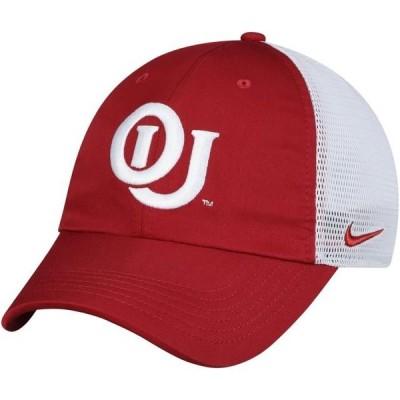 ユニセックス スポーツリーグ アメリカ大学スポーツ Oklahoma Sooners Nike Heritage 86 Vault Trucker Adjustable Hat - Crimson - OS