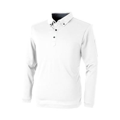 取寄 1110 パフォーマンス長袖ポロシャツ ホワイト M C's CLUB(シーズクラブ) ホワイト 1着