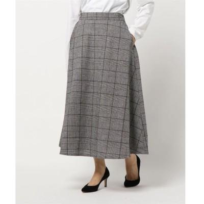 スカート e チェックスカート*