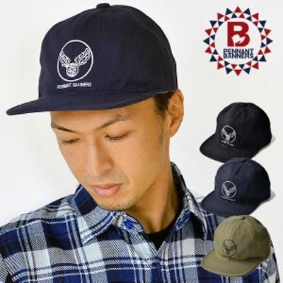 PENNANTBANNERS(ペナントバナーズ) HERRINGBONE PRINT BB-CAP ヘリンボーンプリントベースボールキャップ 帽子 メンズ レディース ミリタ