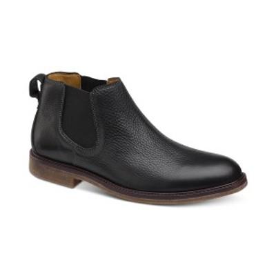 ジョンストンアンドマーフィー メンズ ブーツ&レインブーツ シューズ Men's Copeland Chelsea Boots Black
