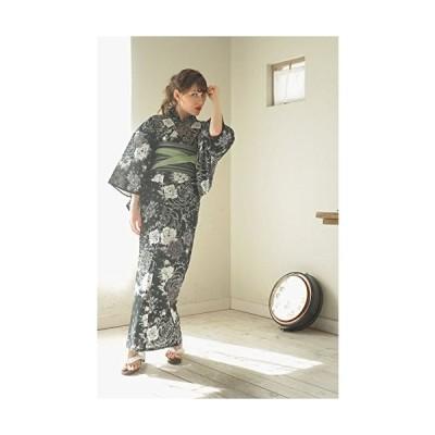 (ソウビエン) ボヌールセゾン bonheur saisons 浴衣 LUXE 薔薇 鹿の子 搾り風 綿 女性 レディース