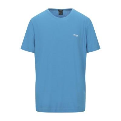 BOSS HUGO BOSS T シャツ アジュールブルー M コットン 100% T シャツ