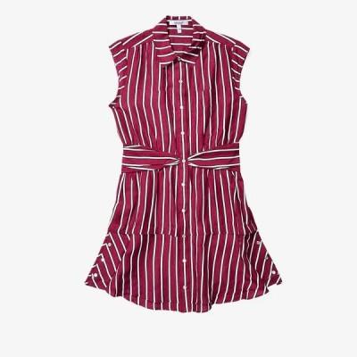デレクラムテンクロスバイ レディース ワンピース トップス Sleeveless Shirtdress w/ Twist Waist Detail