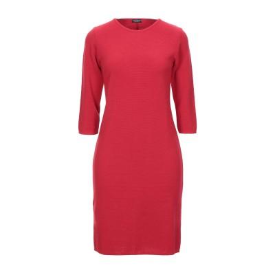 NEERA ミニワンピース&ドレス レッド 40 ウール 100% ミニワンピース&ドレス
