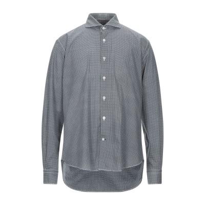 BARBATI シャツ ブラック 42 コットン 97% / ポリウレタン 3% シャツ