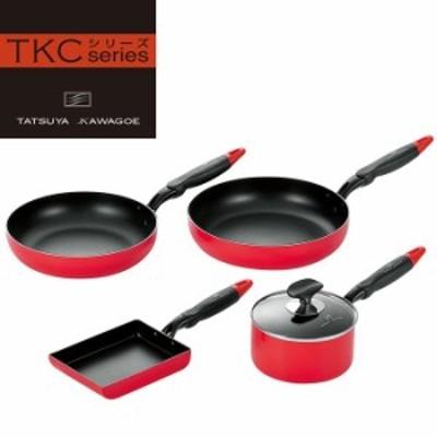 キッチンツール 4点セット 調理器具 タツヤ・カワゴエ YKM-0963