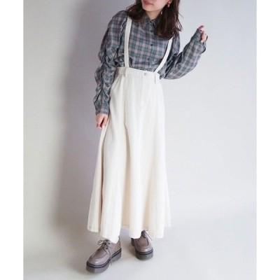 スカート ロングマーメイドスカート
