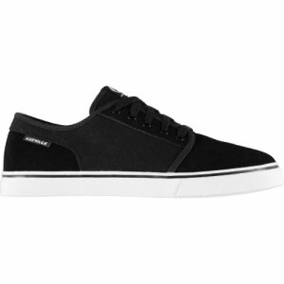 エアウォーク Airwalk メンズ スケートボード シューズ・靴 Tempo 2 Skate Shoes Black/White