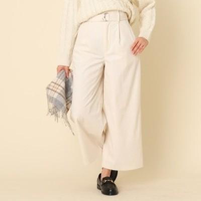 クチュールブローチ(Couture Brooch)/【手洗い可】コーデュロイベルテッドパンツ